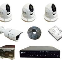 Paket CCTV Studio 4CH TVT (AHD)