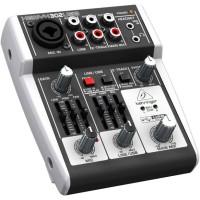 Behringer XENYX 302USB - Premium 5 Input USB Mixer / Audio Interface