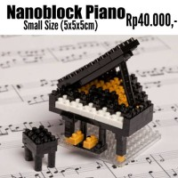 harga Nanoblock Piano ( Musim Drum Trumpet Toilet Mini Lego Kitty Frozen Tokopedia.com