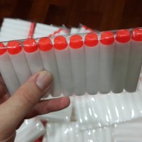 Peluru Nerf Darts Refill White w/ Orange Tip (Glow in the Dark)