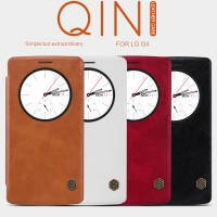 LG G4 Flip Leather View Cover NILLKIN QIN Case (Smart Autolock)