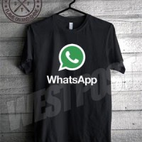 Kaos Logo Whatsapp