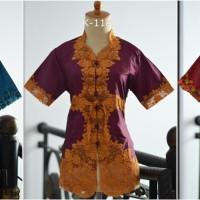 harga Baju Kebaya Encim lengan pendek bordir warna modern pesta wisuda baru Tokopedia.com