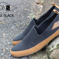 Sepatu Goodness SPACE BLACK | Footwear Goodness