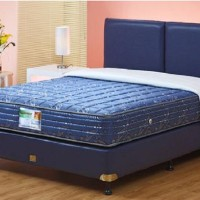 Guhdo Kasur Spring Bed New Prima Atlantic Style - Full Set - 180x200