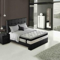 Simmons Kasur Spring Bed Colony - Full Set - 160x200