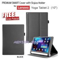 harga Premium Smart Flipcover With Stylus Holder For Lenovo Yoga Tablet-2 10 Tokopedia.com