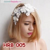 Jual Aksesoris Rambut Pengantin l Wedding hairpieces l Headpiece - HRB 005 Murah