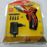 Bor Charger Obeng Kenmaster / Obeng Bor Cordless Drill
