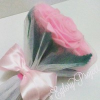 harga Buket Bunga Mawar Flanel Kado Ultah / Wedding / Wisuda / Valentine Day Tokopedia.com