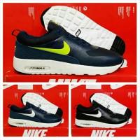 harga Nike Airmax Thea Hitam Merah Tokopedia.com