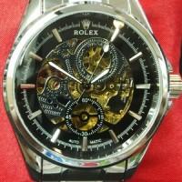 Jual jam tangan ROLEX skeleton 720 Murah