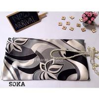 Jual Soka - Square (120 x 120 cm) - Bahan Premium Satin Sutra Import Murah