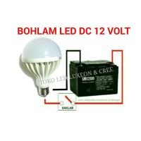 harga 12W BOHLAM DC 12V LAMPU LED AKI SOLAR CELL PANEL SURYA Tokopedia.com
