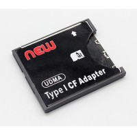 SDHC To Compact Flash CF Type II Card Reader Adapter
