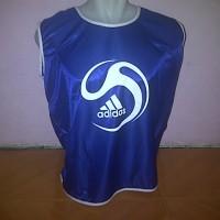Rompi Bola / Futsal Adidas Biru list putih