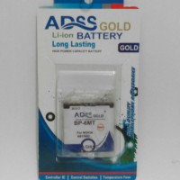 ADSS Gold BP-6MT/BP6MT For Nokia N81/N82... Battery/Baterai/Batere