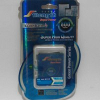 Strenght For Samsung Galaxy Chat B5330 Double Power Battery/Baterai