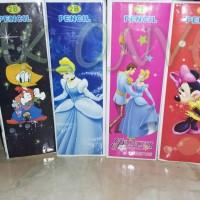 Pensil 2B Karakter Donald, Princes, Mickey Mouse Murah