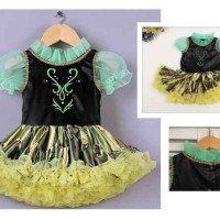 harga Gaun Baju pesta rok tutu anak cewek perempuan anna frozen dress  balet Tokopedia.com