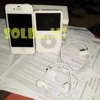 IPHONE 4S 32GB WHITE+IPOD CLASSIC 30GB WHITE WOLFSON