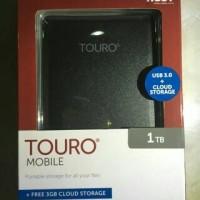 Hard disk eksternal Hitachi Touro 1TB