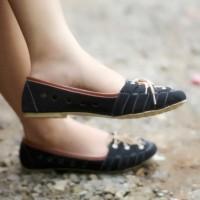 harga Sepatu Sandal Wanita Flat Shoes Tali | NS Sendal Cewek SDB36 Tokopedia.com
