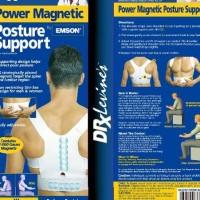 Power Magnetic Posture Support untuk badan bungkuk / bongkok