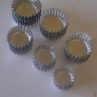 Jual Loyang Pie Mini Alumunium Bulat A +- 7,5 cm Murah