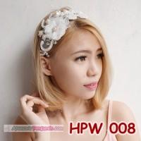Jual Aksesoris Rambut Pesta l Wedding Hairpieces l Headpiece - HPW 008 Murah