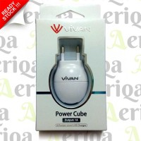 Charger Dock + Kabel MicroUSB Vivan Original - Powercube - 1A