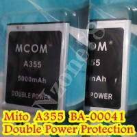 Baterai Mito A355 BA-00041 Mcom Double Power Protection