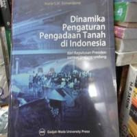 harga Dinamika Pengaturan Pengadaan Tanah Di Indonesia, Dari Keputusan Pres Tokopedia.com