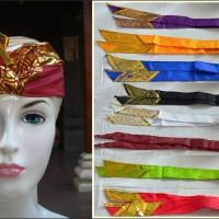 Udeng Bali ikat kepala topi destar adat