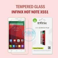 Tempered Glass Infinix Hot Note X551 Screen Protector Anti Gores Kaca