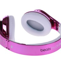 Monsterbeats Headphone By dr Dre Studio Pink metalik
