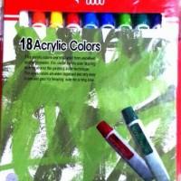Cat Acrylic Titi 18 Warna