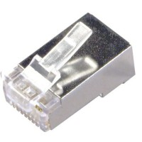 Kepala LAN / Konektor RJ45 Shielded Plug Cat6 8P8C LanConnector -1 pcs