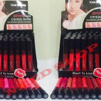 LIP GLOSS KISS BEAUTY 3D LONG LASTING