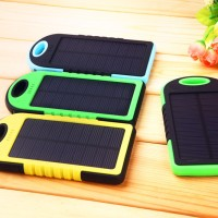 Jual Power Bank Solar Cell - PowerBank Tenaga Surya/Matahari - PB SolarCell Murah