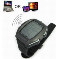 Watch Multifunction Remote Control Touch Screen For TV / DVD / VCD - Black