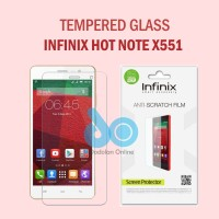 Tempered Glass Screen Protector Guard Anti Gores Infinix Hot Note X551