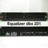 harga Equalizer Dbx 231 (2-series Graphic Eq) Tokopedia.com