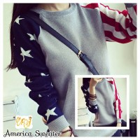 sweater wanita AMERICA TRIBAL