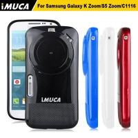iMuca Soft Gel Cover Casing Case With Lens Cap Samsung Galaxy K Zoom