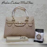 Tas Murah/Tas Lokal/Tas Paketan/Paket 3in1 Gucci Leather Hobo