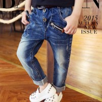 CELANA JEANS ANAK IMPORT BOY SKINNY DENIM PANJANG KIDS CHINO PANTS