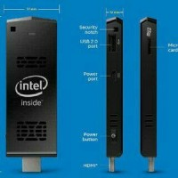 intel computer mini stick. hdmi(mengubah led/lcd menjadi pc win 8.1)
