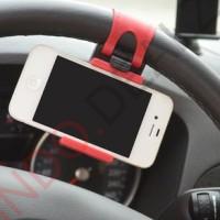 harga Pegangan Hp Mobil Universal Steering Wheel Clip Hp Holder Tokopedia.com