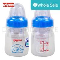 Botol Susu Bayi Pigeon PP RP 50 Ml Standard Assort - Biru